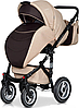 Детская универсальная коляска 2 в 1 Riko Brano 04 Mocca, фото 2