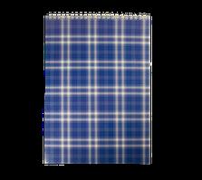 Блокнот на пружине Buromax Shotlandka А4 48 листов клетка синий