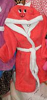 """Детские махровые халаты с капюшоном """"Зайчик"""".(В.А), фото 1"""
