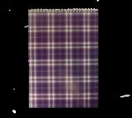 Блокнот на пружине Buromax Shotlandka А4 48 листов клетка фиолетовый