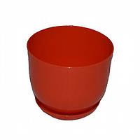 Пластмассовый горшок для цветов Классик 130