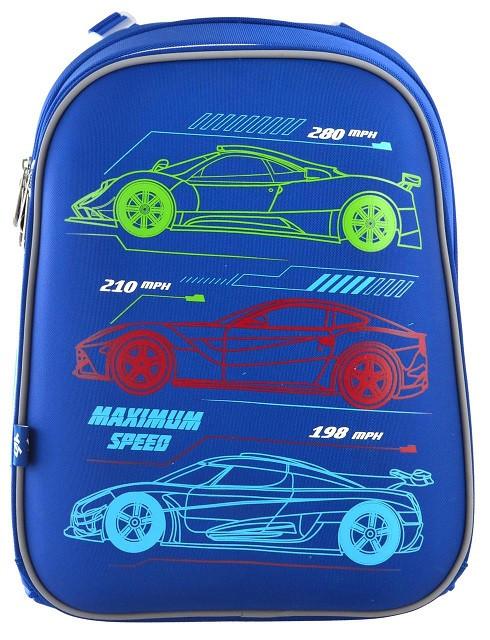555954 Каркасный школьный рюкзак Yes H-12 Maximum Speed 29*38*15
