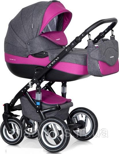 Детская универсальная коляска 2 в 1 Riko Brano 08 Magenta