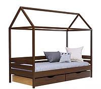 Кровать Амми тм Эстелла с деревянными ножками с ящиками