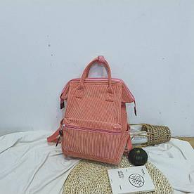 Вельветовая сумка-рюкзак