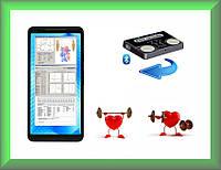 Мобильный электрокардиограф для спортсменов для смартфона / планшета ОС Android 4.4+