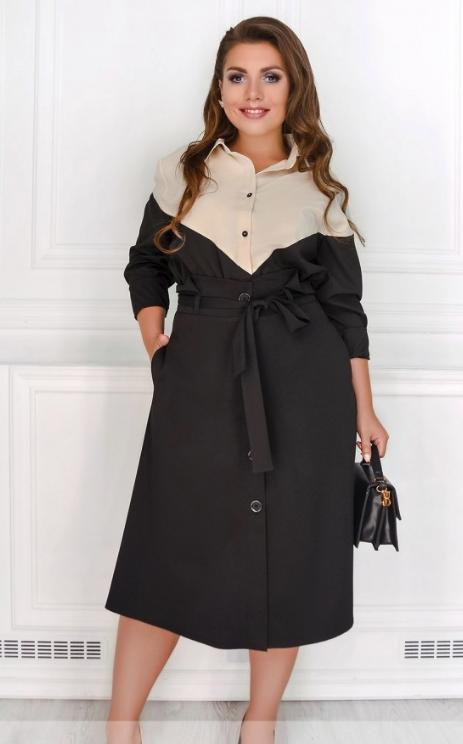 Классическая офисная юбка батал Размеры 50,52