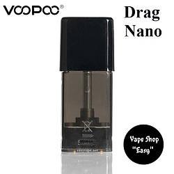 Сменный картридж VooPoo Drag Nano, Alpha Zip Pod S 1 ОРИГИНАЛ.