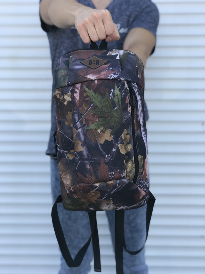 Симпатичний невеликий рюкзак міський (камуфляж)