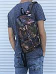 Симпатичний невеликий рюкзак міський (камуфляж), фото 2