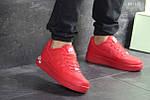 Чоловічі кросівки Nike Air Force 1 LV8 (червоні), фото 2