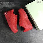 Чоловічі кросівки Nike Air Force 1 LV8 (червоні), фото 4