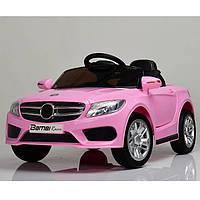 Детский электромобиль розовый