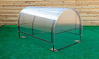 Парник Метелык Nk Plast (125х800х115 см) Сотовый Поликарбонат 4 мм, фото 1