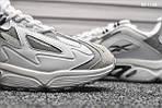 Чоловічі кросівки Reebok Dmx (сірі), фото 2