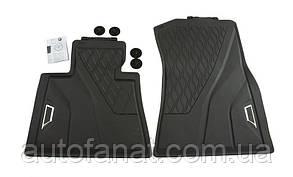 Оригинальные резиновые передние коврики BMW X7 (G07) (51472458551)
