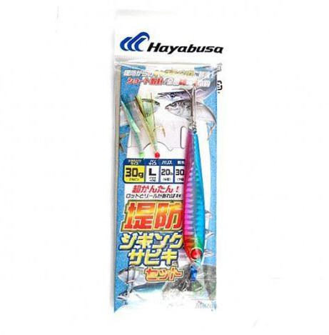 Оснастка морская Hayabusa с мушками и пилькером 30гр