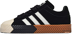 Мужские кроссовки Adidas AW Skate Super Alexander Wang Black White G28385 , Адидас Александер Ванг