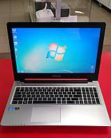 "Ноутбук ASUS K 56 CM  15.6"" Intel Core i5 1.7 GHz 16 GB RAM 250 GB SSD Black-silver Б/У"