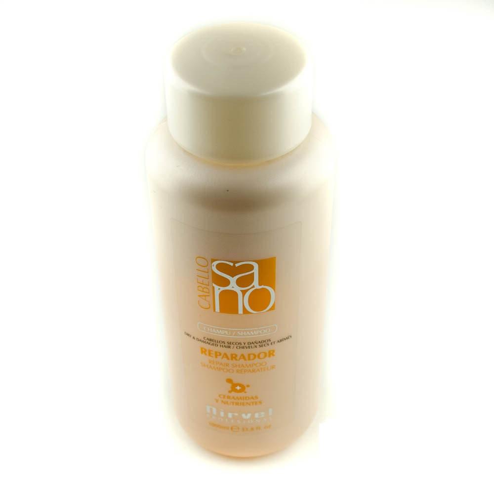 Шампунь восстанавливающий  для сухих и поврежденных волос Nirvel Repair shampoo 1000 мл 8393