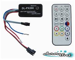 Цветомузикальний контролер пікселів DL-PX200-01 (Music pixel control)