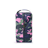 Сумка для обуви P.travel розовый хаки