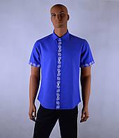 """Чоловіча сорочка вышиванка короткий рукав """"Ян""""(класік), фото 1"""