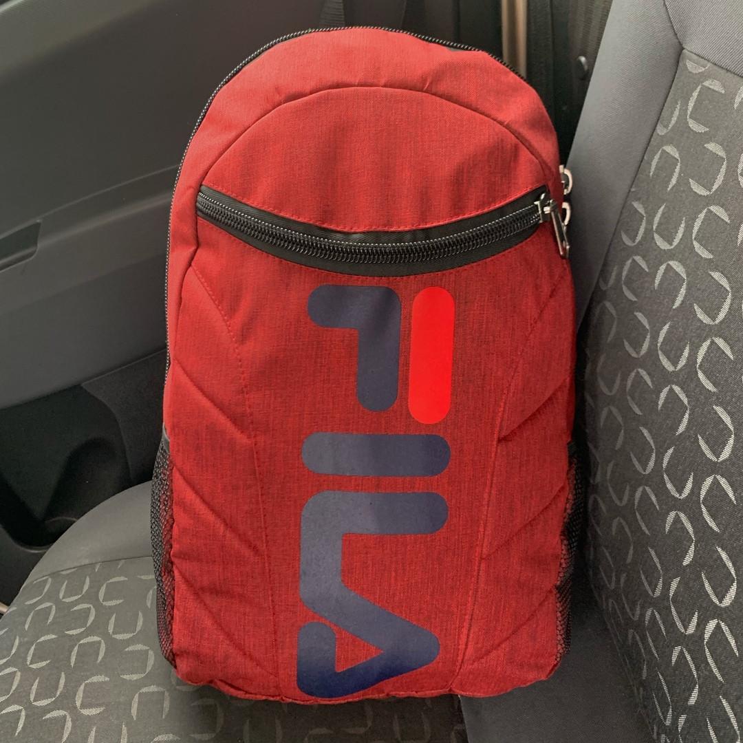Спортивный рюкзак Fila (для школы и спорта) - красный