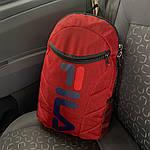 Спортивный рюкзак Fila (для школы и спорта) - красный, фото 4
