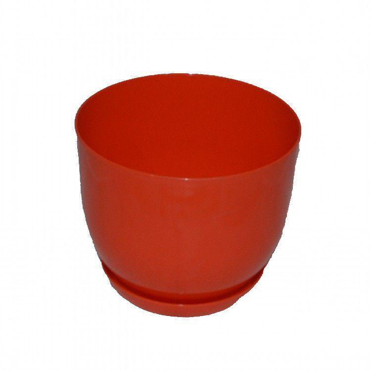 Пластмассовый горшок для цветов Классик  160