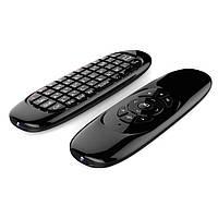 Беспроводная клавиатура мини пульт аэромышь для Smart TV BOX AIR MOUSE C120
