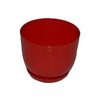 Пластмассовый горшок для цветов Классик  190