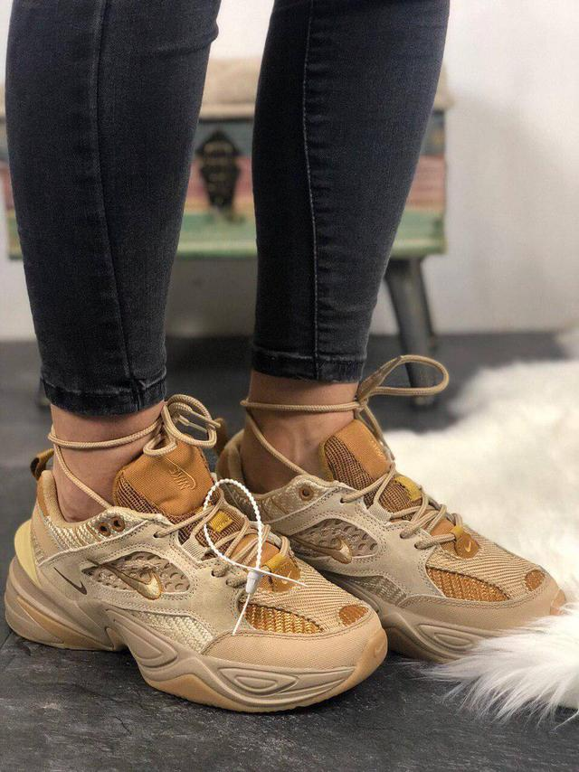Nike M2K Tekno Linen & Wheat & Ale Brown фото