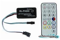 Цветомузыкальный контроллер пикселей DL-PX200-11 (Music pixel control)
