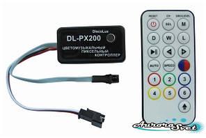 Цветомузикальний контролер пікселів DL-PX200-11 (Music pixel control)
