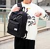 Рюкзак городской мужской женский Jinman Черный, фото 3