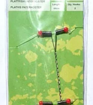 Оснастка морская Spro 2-Hook Metal Boom FlatFish Rig 002 0.70/0.45 60 cm