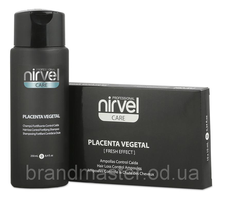 Набір шампунь і ампули від випадіння волосся Nirvel Anti-hair loss 250мл 8036