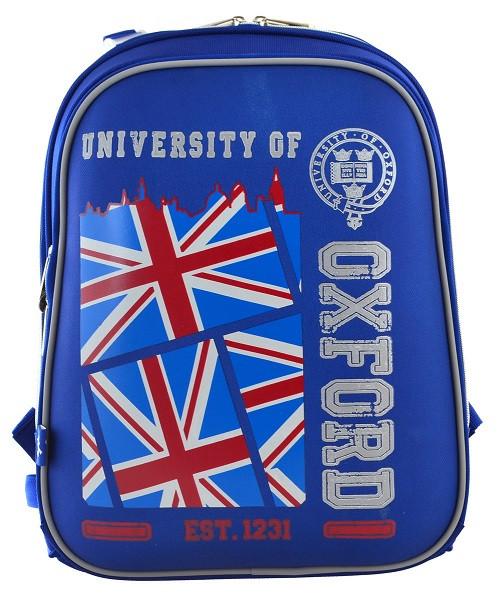 555956 Рюкзак школьный каркасный YES H-12 Oxford 29*38*15