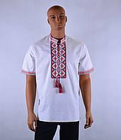 """Чоловіча сорочка вышиванка короткий рукав """"Француз"""", фото 1"""