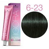 6-23 Краска для волос Schwarzkopf Professional Igora Royal Pearlescence - Темно русые пепельно матовый - 60мл