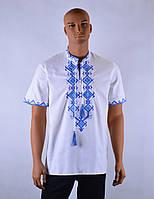 """Чоловіча сорочка вышиванка короткий рукав """"Буковина"""", фото 1"""