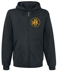 Толстовка с молнией Mortal Kombat 11 - Logo