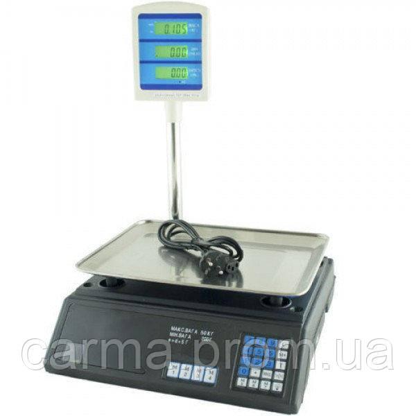 Весы торговые электронные BITEK YZ-208+ 55 кг