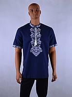"""Чоловіча сорочка вышиванка короткий рукав """"Ян"""", фото 1"""