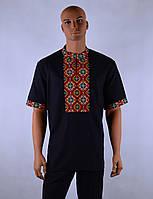 """Чоловіча сорочка вышиванка короткий рукав """"Тимофій"""", фото 1"""