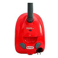 Пылесос для сухой уборки Rotex RVB01-P Red, фото 1