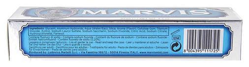 Зубная паста Marvis Aquatic Mint, 85 мл, фото 2