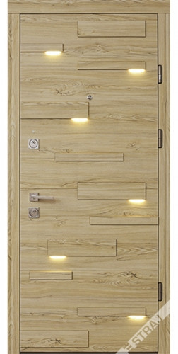Входная дверь Страж, Expo light