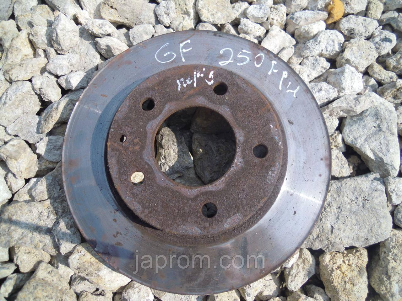 Тормозной диск передний Mazda 626 GE GF Xedos 6 1992-2002г.в.